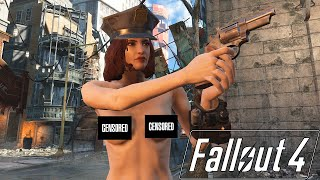 getlinkyoutube.com-Fallout 4 Mod Review 3 - Nude Mod, Ammo, Money and Plenty of Green - Boobpocalypse