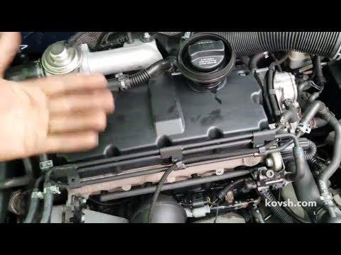 Где щетки генератора у Volkswagen Бора