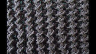 getlinkyoutube.com-[Mẫu đan] - Hướng dẫn đan mẫu khăn zigzag