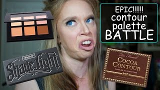 getlinkyoutube.com-EPIC CONTOUR PALETTE BATTLE!