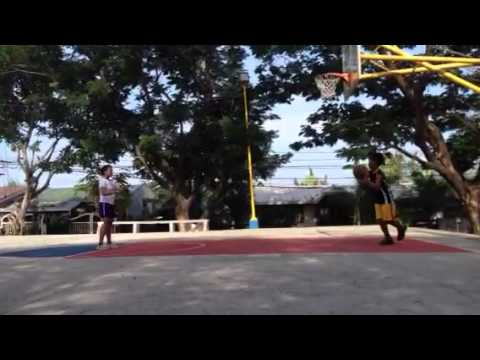 kamote basketball training w/ate chuchay