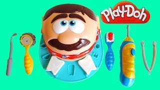 getlinkyoutube.com-Play Doh Dr Drill n Fill Dentist Playset Unboxing