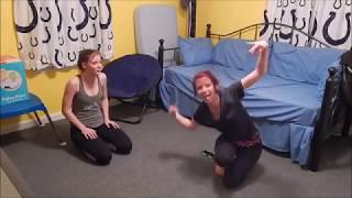 getlinkyoutube.com-Yoga Challenge with Sister