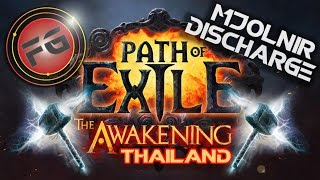 getlinkyoutube.com-PathOfExile [Thai] Mjolnir Discharge ลงทุนเยอะจัง T T by Fixgaming | FixGamingTH