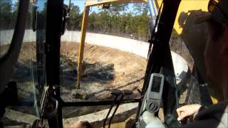 getlinkyoutube.com-Cat 324DL Long Reach Dipping Mud