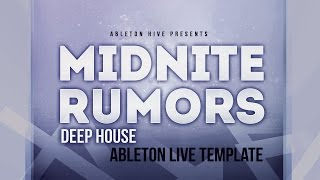 getlinkyoutube.com-Midnite Rumors - Ableton Deep House Template
