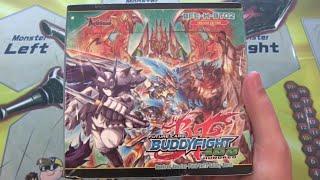 getlinkyoutube.com-Future Card Buddyfight H Booster Set 2 Galaxy Burst Box Opening