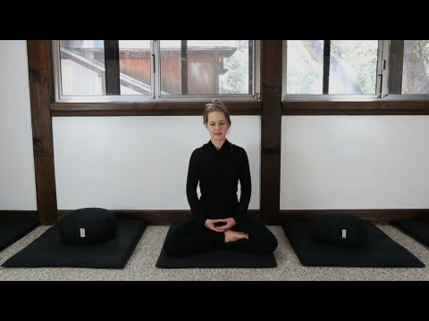 Zen Meditation Instruction (How to Meditate)