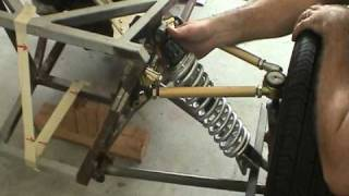 getlinkyoutube.com-Locost Adjustable Front Suspension - Part 3 of 3 - Coilover Shocks