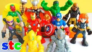 getlinkyoutube.com-Marvel Super Hero Adventures Ultimate Super Hero Set