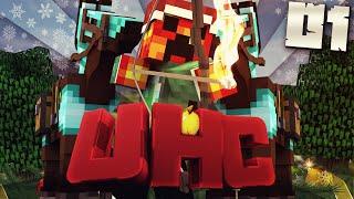 getlinkyoutube.com-Minecraft YOUTUBER WINTER UHC - #1 (Minecraft Ultra Hard Core) w/PrestonPlayz
