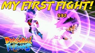 getlinkyoutube.com-Fighting Raditz & Nappa! | Dragon Ball Fusions - Ep 2