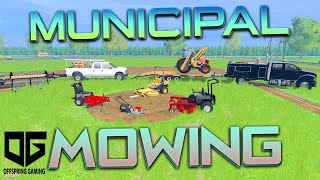 getlinkyoutube.com-Farming Simulator 2015 - Mowing the Ball Park