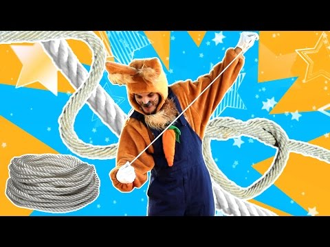 نطنط نهار وأرنوب الحبوب | سحر مع أرنوب - ثلاث حبال | Three Ropes