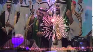 فرقة الراية الامير فيصل بن مشعل يشارك في العرضة