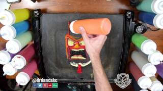 getlinkyoutube.com-Inside Out Pancake Art - Anger