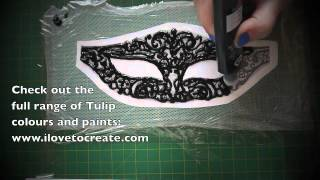 getlinkyoutube.com-Crafty Creatives box 4 kit - GOTHIC - Masquerade Mask!