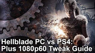 Hellblade - PC vs PS4/Pro Graphics Comparison