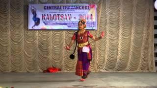 getlinkyoutube.com-kuchippudy 1st prize cbse sahodaya district competition (cat 3) held at thadiyoor