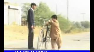 getlinkyoutube.com-NEW FUNNY Pothwari drama 2014 DO GAZ NIMEE