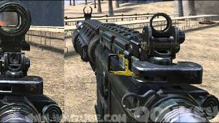 getlinkyoutube.com-Black-ops 2 GUNS vs MW3 GUNS ** REAL
