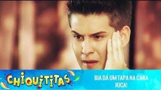 getlinkyoutube.com-Chiquititas - Juca tenta beijar Bia e leva um tapa na cara.