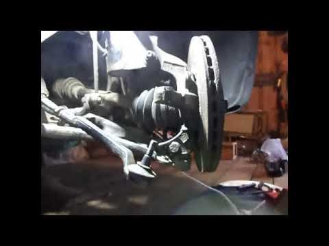 Замена рулевого наконечника без развал схождения Рено Кангу 2011 год.
