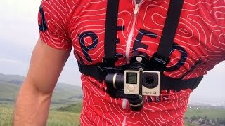 getlinkyoutube.com-Mountain biking with the Feiyu Tech Wearable Gimbal