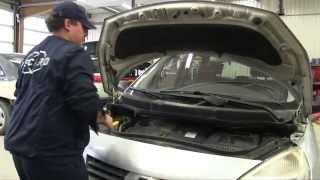 getlinkyoutube.com-Renault Scénic 2 dci - Changer le filtre à air