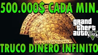 "getlinkyoutube.com-GTA 5 Online - TRUCO DINERO INFINITO 500.000$ POR MINUTO ""LEGAL"" PS3 y  PS4"