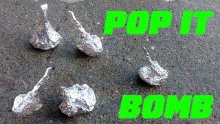 How To Make Pop It Bomb Cracker Using Matchbox