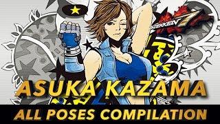 getlinkyoutube.com-TEKKEN 7 | Asuka Kazama  - All Poses Compilation & Rage Art | 1080P 60FPS | 鉄拳7