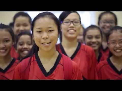 Sticking Together - Bukit Merah Secondary Floorball Team