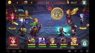 getlinkyoutube.com-League of Angels: fire raider: Arena fight 20k and 10k higher than me and i won