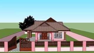 getlinkyoutube.com-บ้านเดี่ยวชั้นเดียว (งานส่งอาจารย์)