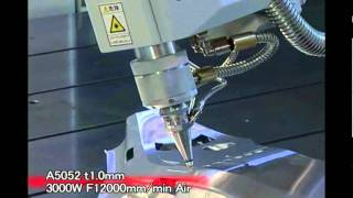getlinkyoutube.com-Mitsubishi VZ10 Series 3D Laser Cutting Systems