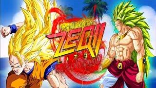 getlinkyoutube.com-LSSJ3 Broly VS SSJ3 Goku - DBZ: ZEQ2 Lite Revolution Gold Edition - HD [60FPS] (PC Gameplay)