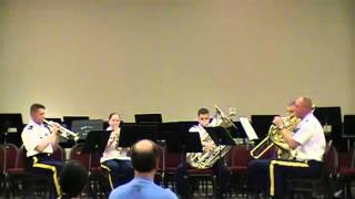 getlinkyoutube.com-Don't Stop Believin' - Brass Quintet