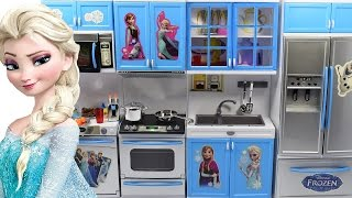 getlinkyoutube.com-Toy Kitchen Set Cooking Playset For Children ❄ Cooking Toys For Kids by Haus Toys