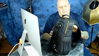 New LowePro Awesome! Slingshot Edge 150. First Look and Review!