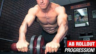 getlinkyoutube.com-The Ultimate Ab Rollout Progression (BEGINNER TO ADVANCED!)