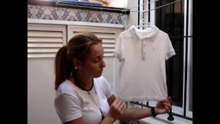 getlinkyoutube.com-Ropa planchada sin utilizar la plancha- ¡Se acabó el planchado ! Ahorrar dinero/ save money Pilar