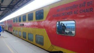 getlinkyoutube.com-Full Journey Compilation : DELHI JAIPUR DOUBLE DECKER EXPRESS