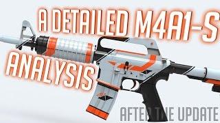 getlinkyoutube.com-CS:GO - Detailed M4A1-S ANALYSIS + Why it got better