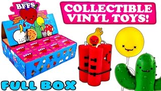 16 BFFS Love Hurts Blind Box Opening an Entire Case of Kidrobot Toys | BFFS Unboxing