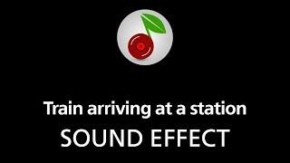 getlinkyoutube.com-Train arriving at a station, sound effect