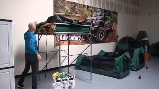 getlinkyoutube.com-Ironman4x4 Best Rooftop Tent set up!