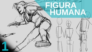 getlinkyoutube.com-Como dibujar FIGURA HUMANA. Lo primero que debemos hacer. Principiantes.
