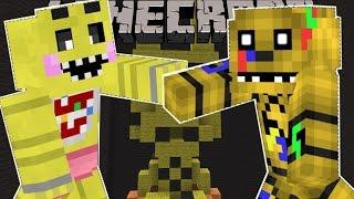 getlinkyoutube.com-Minecraft: SUPER FIVE NIGHTS AT FREDDY'S BROS BRAWL! (FIGHT AS ANIMATRONICS!) Mini-Game