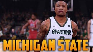 getlinkyoutube.com-NBA 2K16 Michigan State Spartans Court & Jersey Tutorial